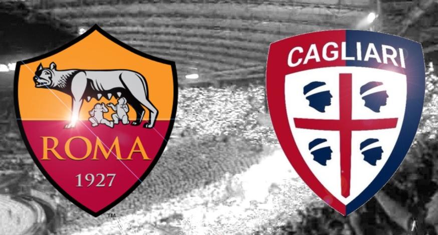 ROMA-CAGLIARI Streaming Live: dove vedere in Diretta Video Gratis Oggi | Calcio Anticipo Serie A