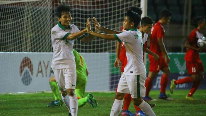 Timnas Indonesia 9- 0 Filipina, Ajang AFF U-18 2017