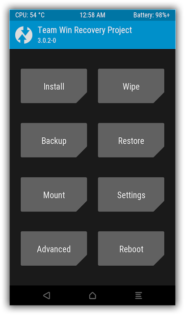 recovery screenshot twrp