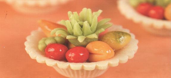 طريقة عمل سلات الفواكه