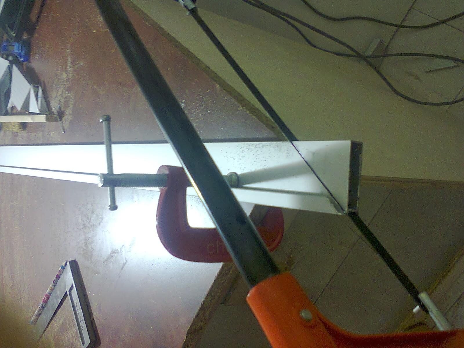 Proses Buat Frame Pintu 3g Kabinet Dapur Guna Gergaji Tangan Lebih Mudah Dan Lurus Mesin Agak Susah Berdesing Bunyi Dia