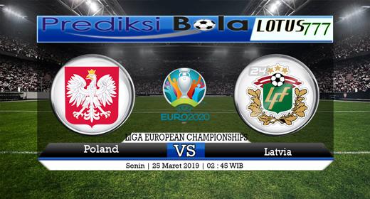 Prediksi Poland vs Latvia 25 Maret 20193