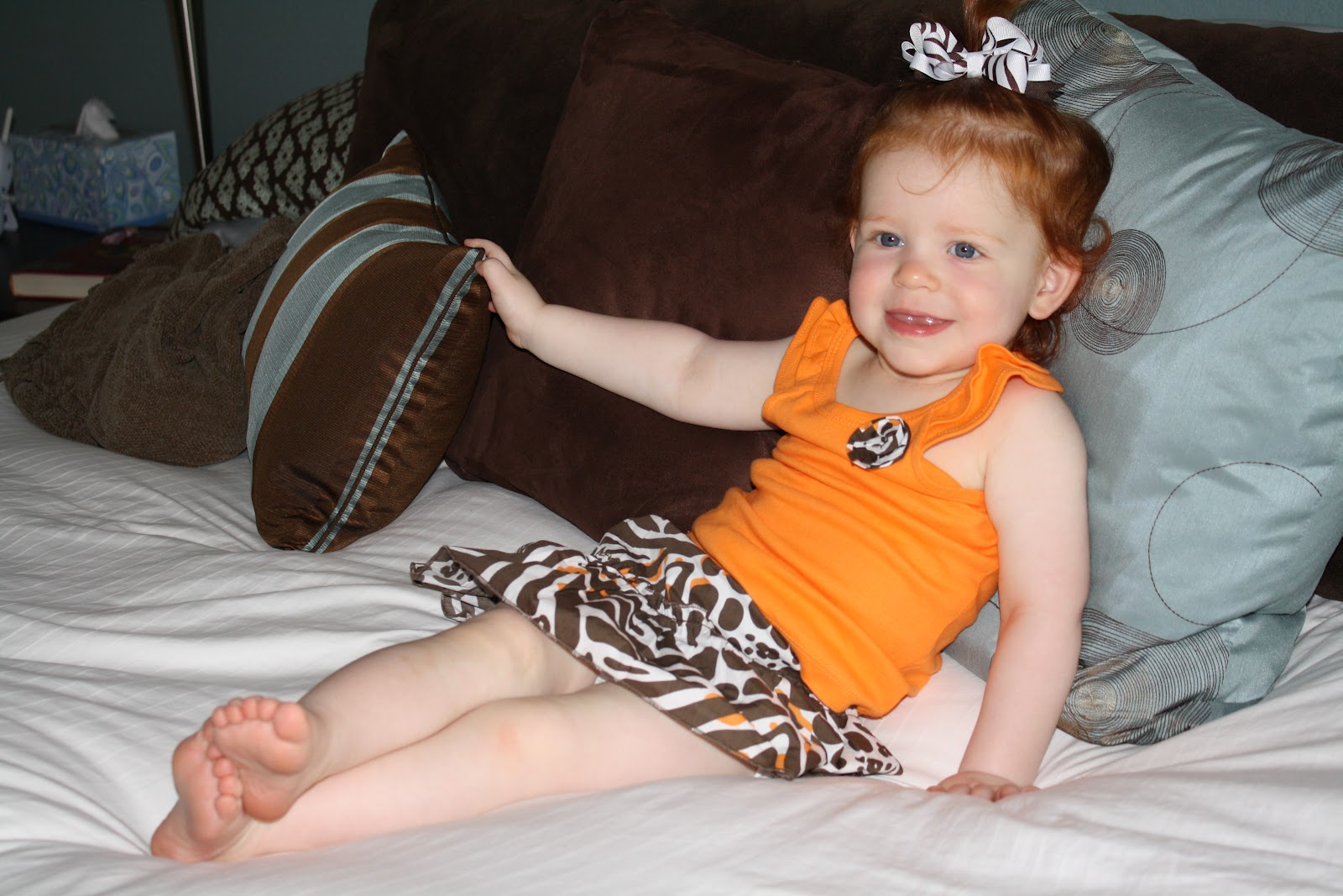 The Lancaster Family Avery Blake Is 18 Months Old