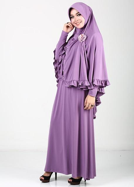 Model Baju Syar'i Muslim Pesta Terbaru
