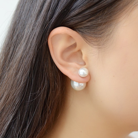 How to Make Double Sided Pearl Earrings - The Beading Gem ...