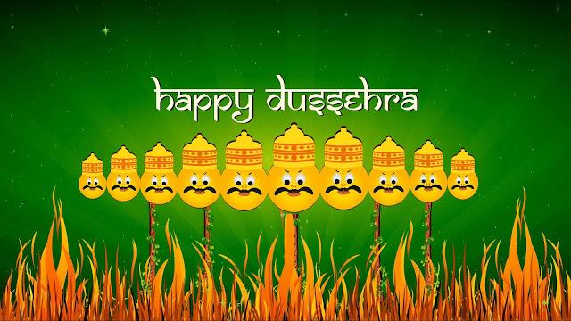Bright Happy Dussehra Images