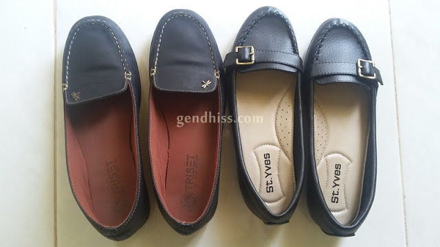Flat shoes untuk kerja