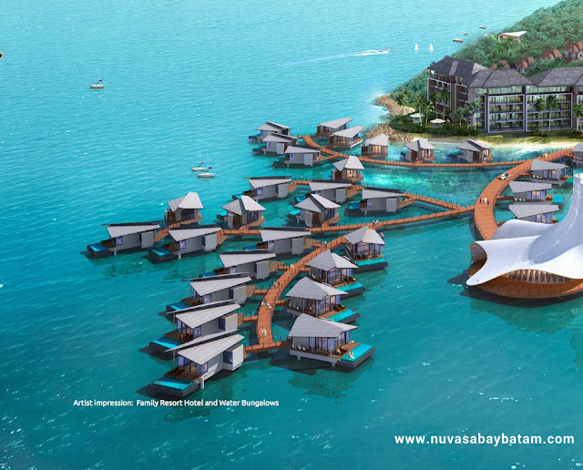 Nuvasa Bay Batam Water Bungalow