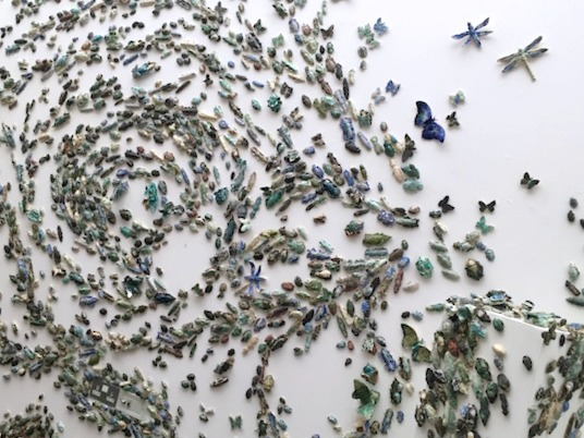 Family Activities in Nottingham | Morgan's Milieu: A part of Swarm, on show at Nottingham Lakeside.