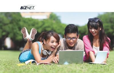 Layanan internet Wifi Biznet Networks memberikan layanan internet Turbo menggunakan teknologi Wi-Fi