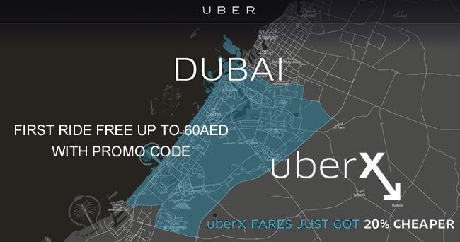 Uber Promo Codes & Vouchers in UAE (Dubai & Sharjah)