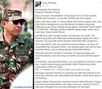 Letjen TNI (Purn) Johannes Suryo Prabowo