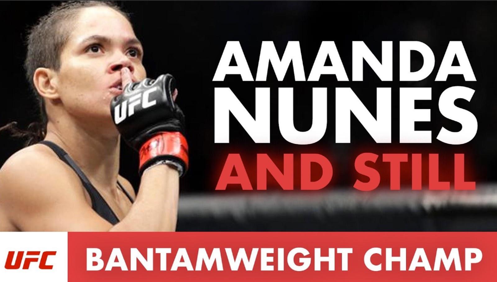 AMANDA NUNES 6