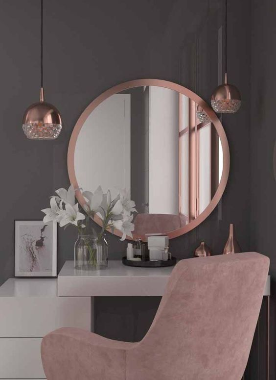 Decorar com rose gold