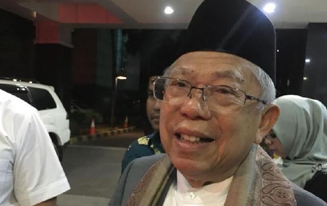 Ma'ruf Amin: Saya Sudah Tua, Tapi Jokowi Nyaman dengan Saya