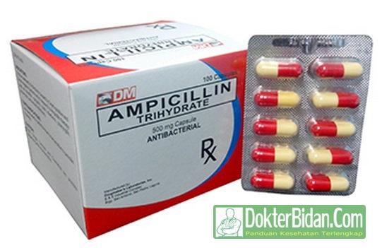 Ampicillin Antibiotik - info Obat Dosis  Cara Memakai dan Efek Sampingnya Bagi Kesehatan Pria Wanita