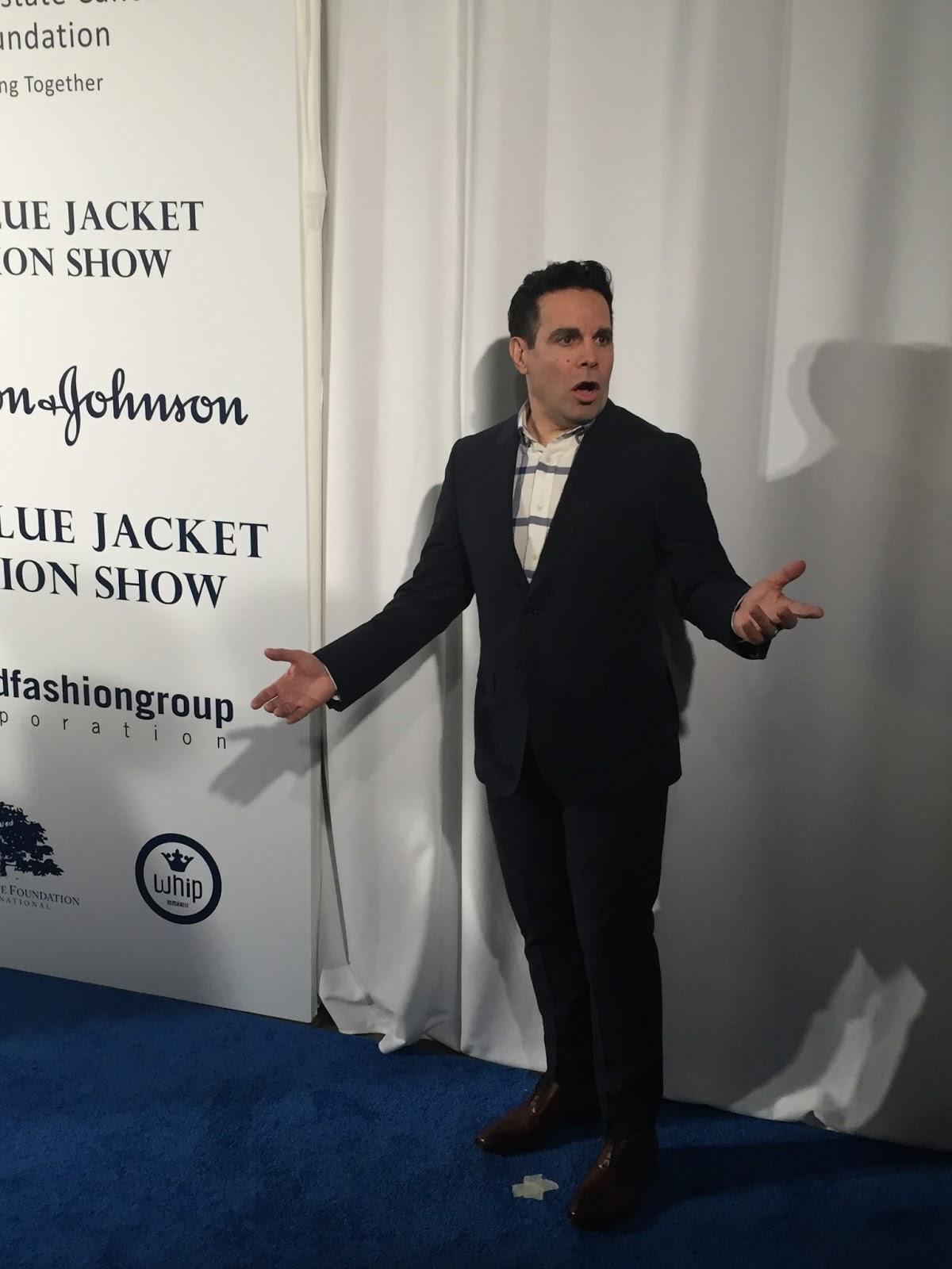 Blue Jackets Matter: Inaugural Blue Jacket Fashion Show - Jacket ...