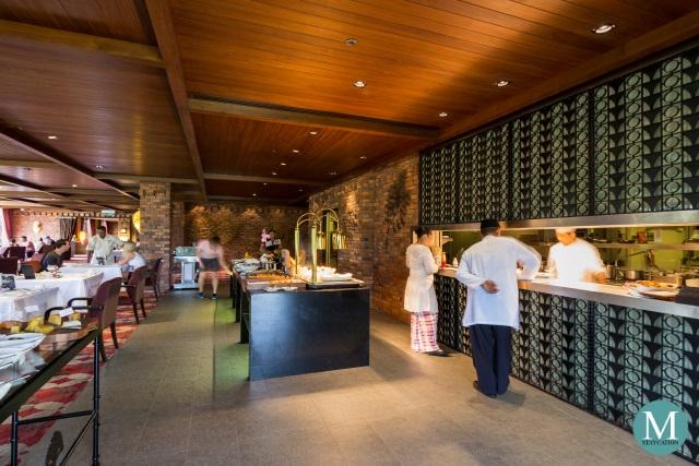 Breakfast at Feringgi Grill, Rasa Wing, Shangri-La Rasa Sayang