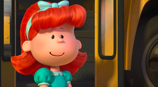 peanuts movie little red-haired girl movies animation