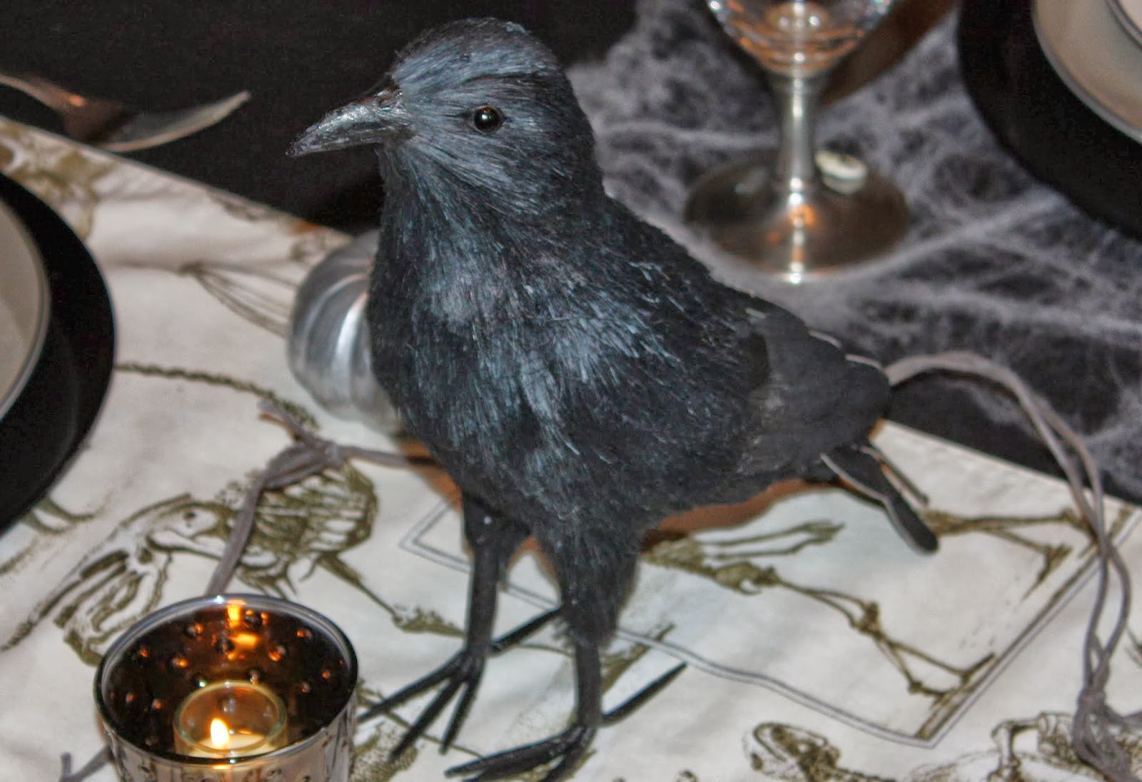Inspiration In Stages Halloween Tablescape Reveal