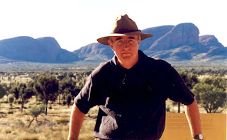 Bruce Buchanan at Kata Tjuta
