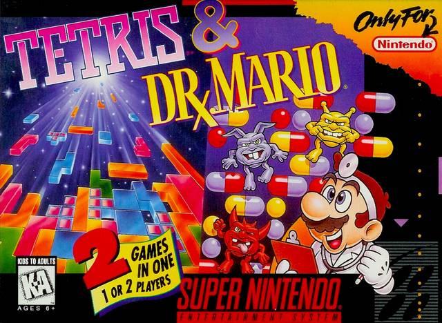 Tetris y el Dr. Mario - Portada