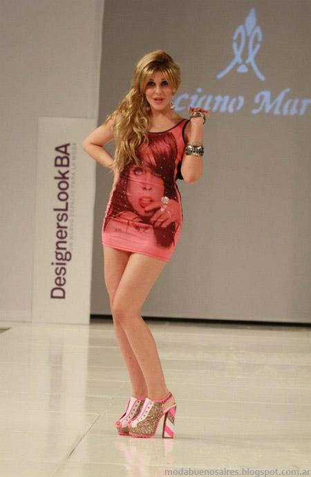 2d9e6aec0 Luciano Marra primavera verano 2013 Desfile Designers Look Buenos Aires.