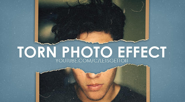 Torn Photo Effect in Photoshop