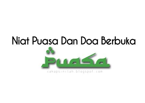 Niat Puasa & Doa Berbuka Puasa