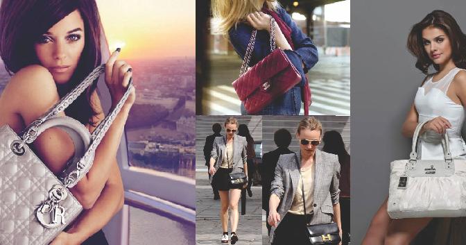 e37e91961 O que existe entre as mulheres e suas bolsas?   Shopping das Bolsas