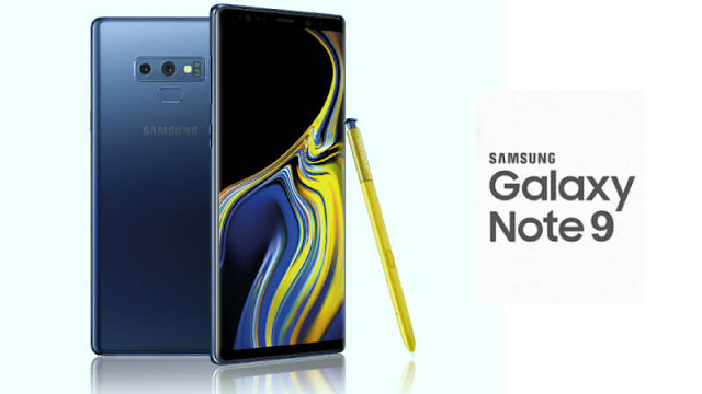 Samsung Galaxy Note9 and iPhone XS Max