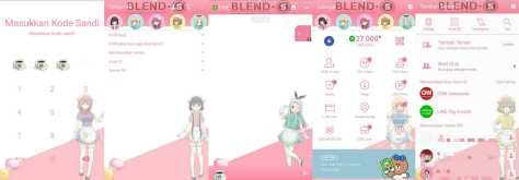 Download Tema Line Anime Blend S Gratis