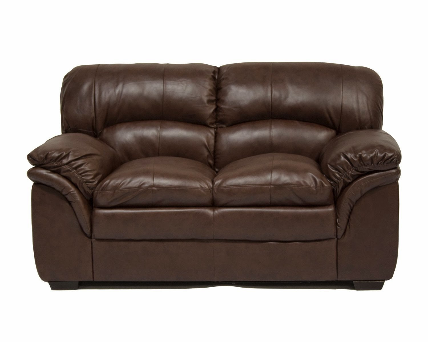 Ac Pacific Brown Two Seater Reclining Leather Sofas