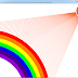 Creating rainbow using Processing programming language