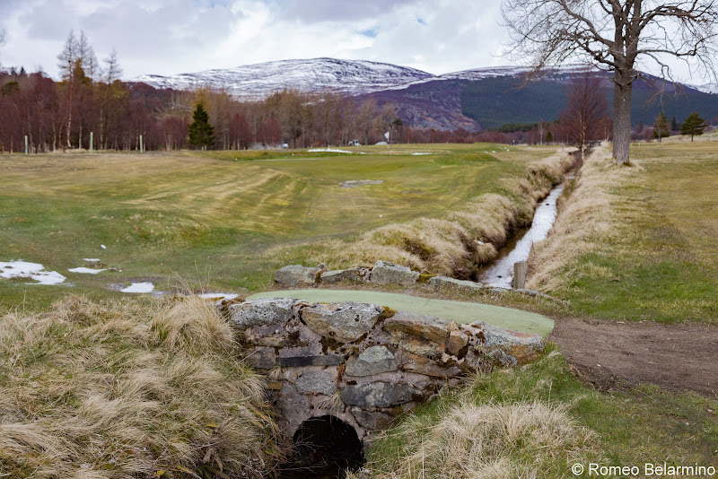 Braemar Golf Club Hole 15 Bridge Top Scottish Golf Courses