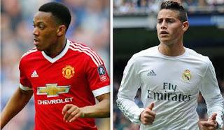 Manchester United Siap Tukar Pemain dengan Real Madrid