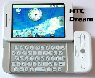 pictures of htc dream - t-mobile g1