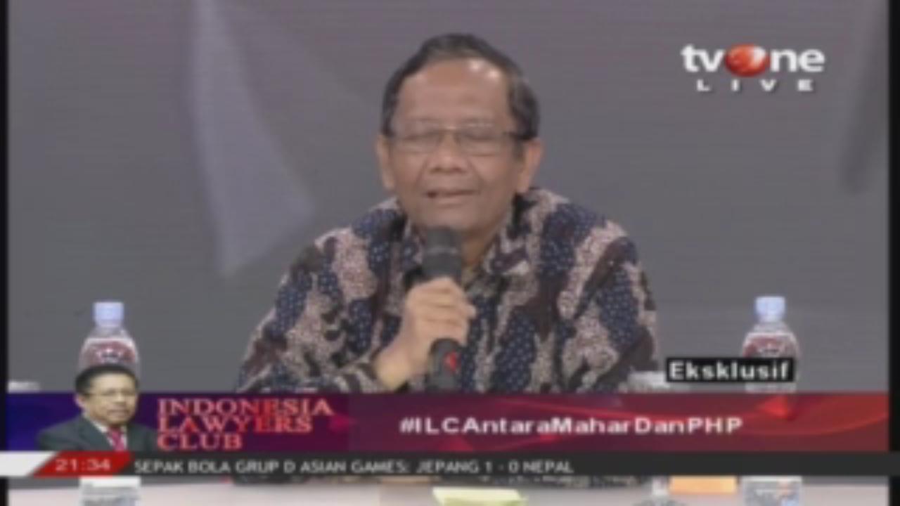 Mahfud MD Bongkar Keanehan Said Aqil