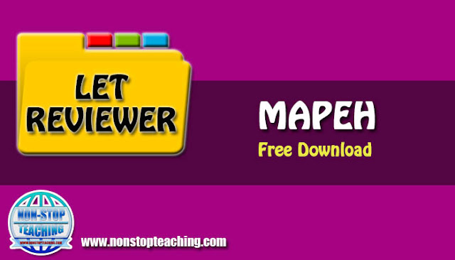 LET Reviewers for MAPEH Major with Answer Keys