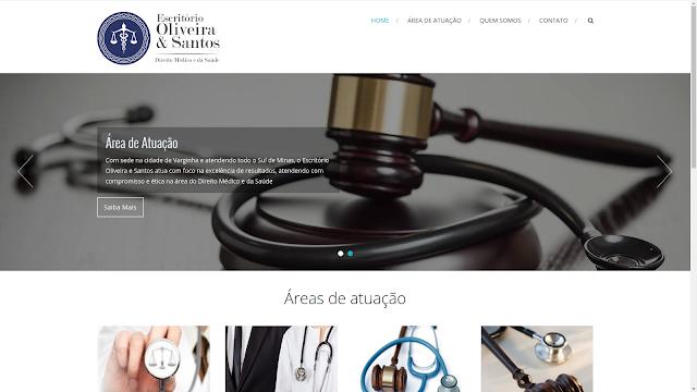 Site Oliveira & Santos