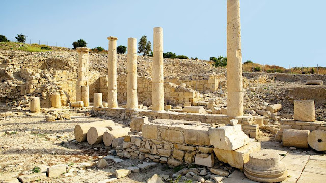 'Amathous of Cyprus, a city most ancient' at the Archaeological Museum of the Lemesos District, Republic of Cyprus