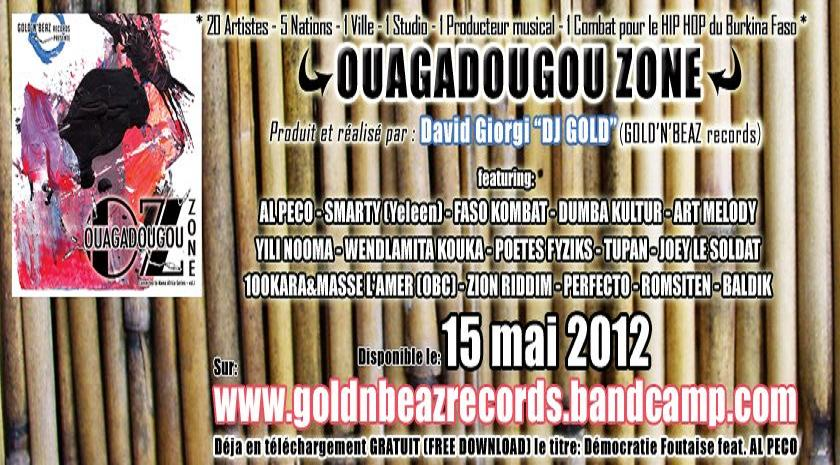 afrihooop african hip hop ouagadougou zone by gold 39 n 39 beaz records d mocratie foutaise feat. Black Bedroom Furniture Sets. Home Design Ideas