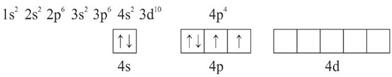 konfigurasi elektron SeF6