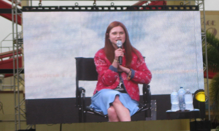 Bonnie Wright A Celebration of Harry Potter 2016