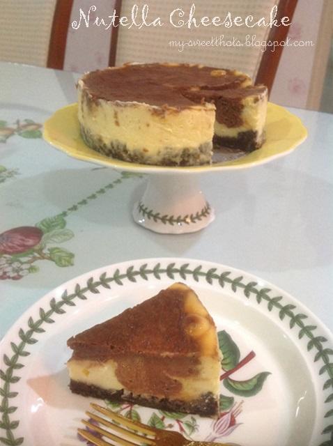 Resepi Nutella Cheesecake Kongsi Resepi