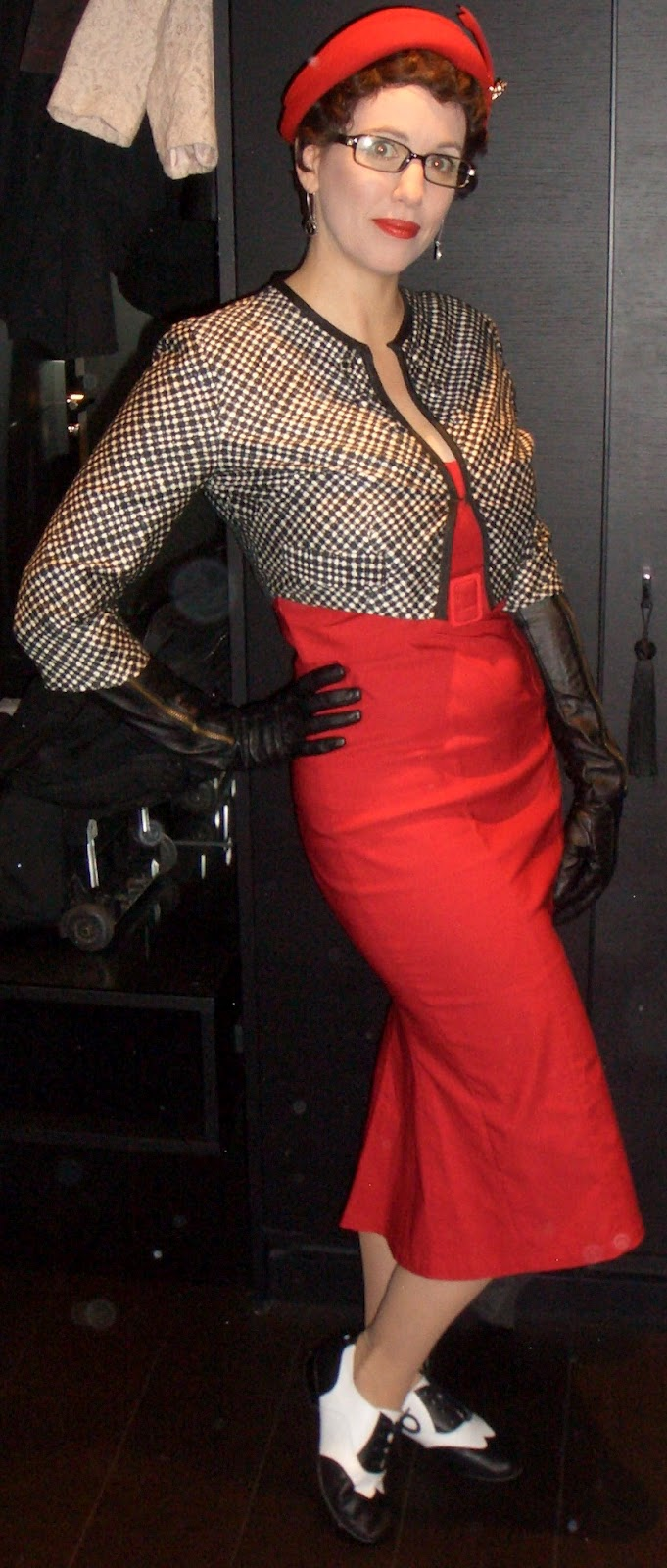 Retro Rack The Red Jessica Wiggle Dress By Gail Carriger