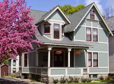 Exterior Walls Paint Ideas, Color Scheme & Color Combination