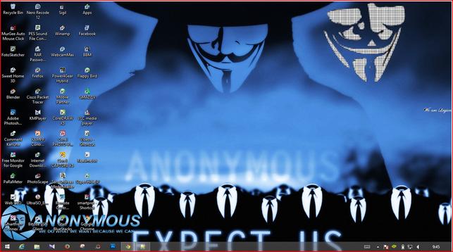 Download Tema Anonymous untuk Windows 7 / 8 / 8.1