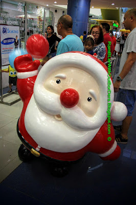 Santa, SM Mall of Asia, Manila, Philippines