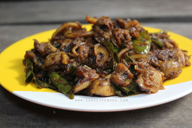 Squid Roast / Kerala Style Koonthal Varattiyathu